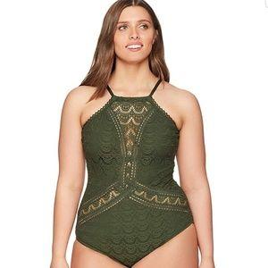 db19df0e72ed Women Becca Crochet One Piece Swimsuit on Poshmark
